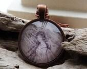 Fairy Copper Pendant