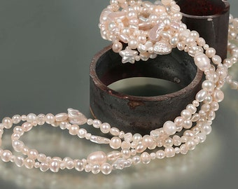 Stars freshwater pearl Necklace