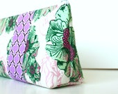 Personalized Cosmetic Makeup Bag - Lush- Made to Order