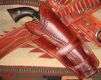 Custom made to order Mexican Loop Holster - 10/12 week delivery