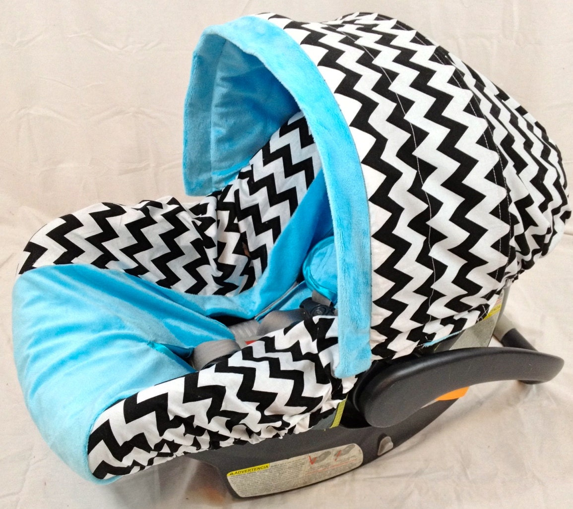 Chevron Infant Seat Cover Baby Car Seat Cover With Matching