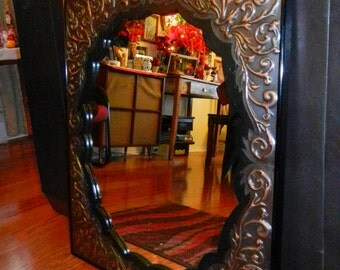 Repousse' Mirror