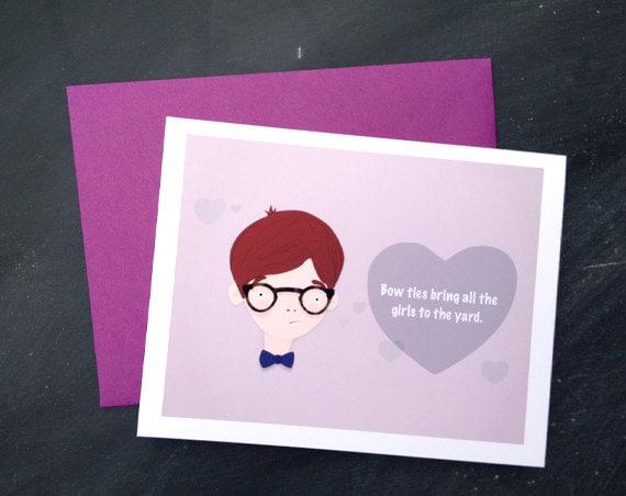 Bow-tie Love Card