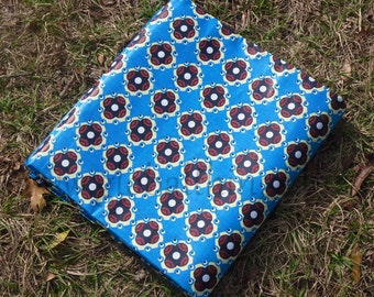 African Wax Cotton Print Fabric - African Daviva Fabric - Aboriginal DNA