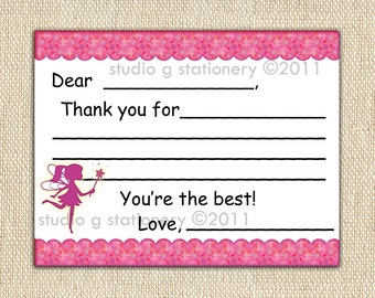 Toddler - Kids - Learn to Write Thank You Cards 12