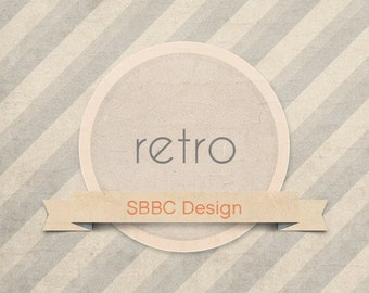 Shop Banner Starter Pack Retro Modern