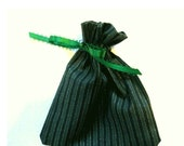 Green Stripe Gift Bag