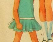 Retro Collarless Dress Sewing Pattern Size 6 Simplicity 8223