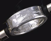 Coin Ring - Walking Liberty Half  Dollar  (Choose The Year & Ring Size You Want)