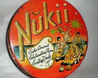 Nukii Tin - Vintage Cookie - Candy Tin