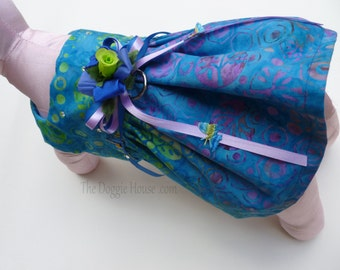 Dog Dress Batik   - SMALL