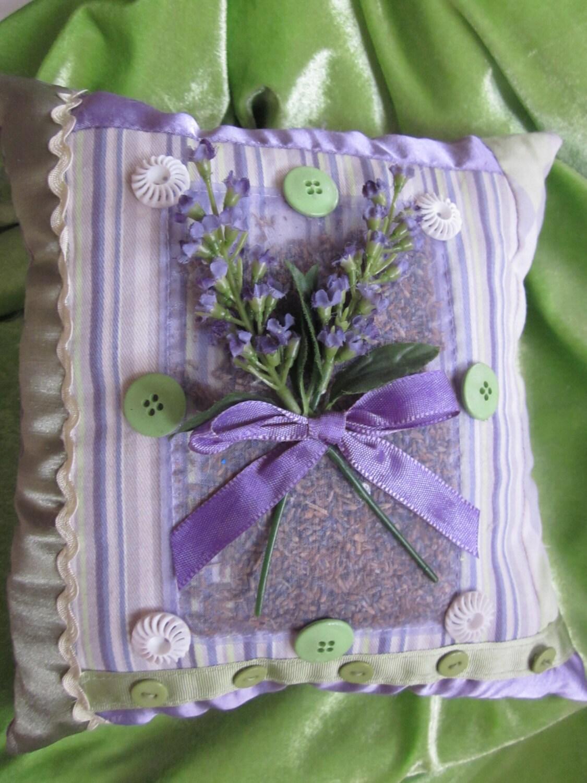 Lavender Pillow Scented Sachet Accent Pillow