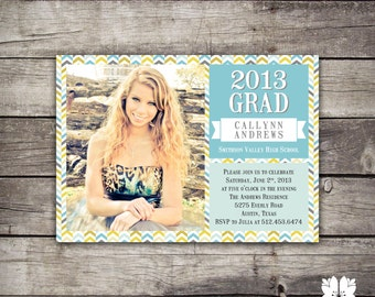 Graduation Announcement Party Invitation
