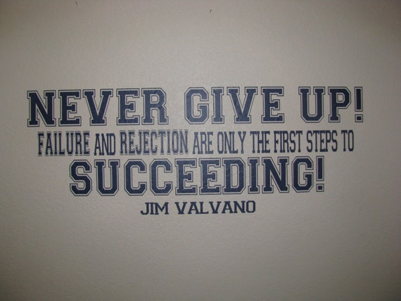 Items Similar To Never Give Up Jim Valvano Motivating