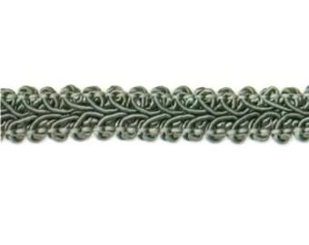 """E1901 Sage Green Gimp Sewing Upholstery Trim 1/2"""" (E1901-SG)"""