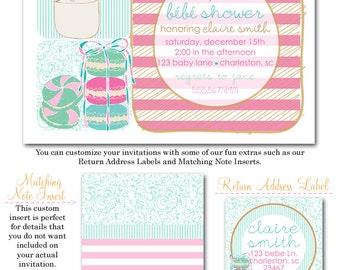 Sweet Bebe Shower Invites