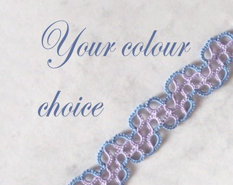 Geometric Bookmark - Your Colour Choice - Chiara - Two Colours