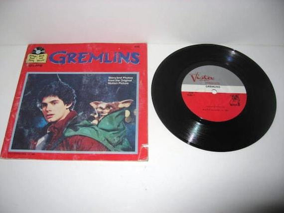Vinyl Record Gremlins 7 LP 1984 Children's Classics