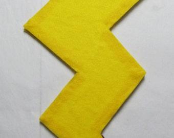 Pokemon Pikachu Tail Cosplay Costume Yellow Electric Mouse Raichu