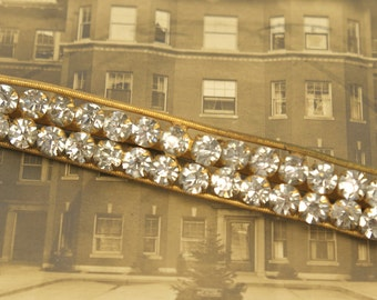 Antique Rhinestone Finding