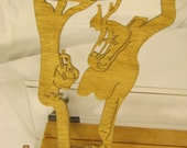 US STATE of  VERMONT  Scroll Saw Plaque