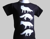 Arctic Fox Toddler T Shirt Organic