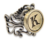 Typewriter Key Ring - Choose your Letter