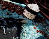 Ravens Blend  (soap whip---coffee, hazelnuts, caramel, almonds, dark chocolate)