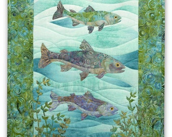Popular Items For Fishing Quilt On Etsy