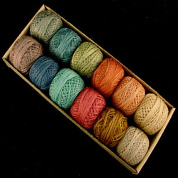 Valdani Perle Cotton Size 12 Embroidery Thread Bigsby Designs