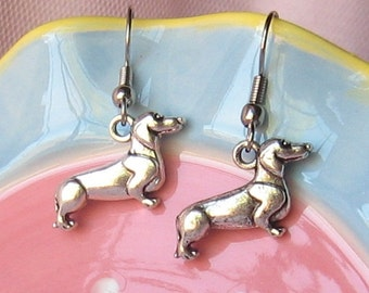 Dachshund Dog Earrings,Weiner Dog