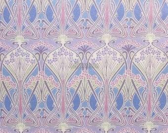 Liberty tana lawn printed in Japan - Ianthe  - Lilac mix