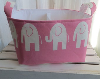 Diaper Caddy, Baby Caddy, Baby organizer, Diaper organizer, storage bin, Fabric organizer bin with adjustable dividers
