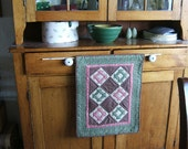 Churn Dash Wall Hanging or Table Topper in Civil War Theme