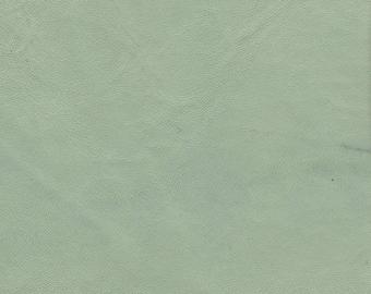 5286  - Leather -  Lambskin -  New (Cut from the Hide)  - Pale Pastel Aqua -  NOTE Below  Regarding Lambskin Nos.  5261-5296