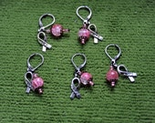 Beaded Stitch Markers for Crocheters