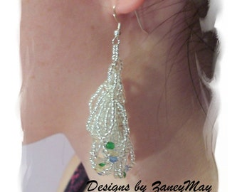 Lovely Loop Earrings, Beading Tutorial in PDF
