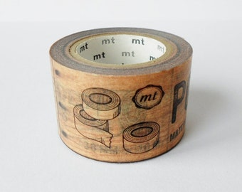 Limited Edition mt Japanese Washi Masking Tape - Brand 30mm for packaging, tag making, scrapbooking