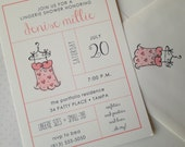 Oh My - Lingerie Shower Invitations