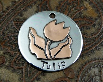 Tulip Custom Pet Tag
