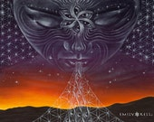 Nightfall visionary art p...