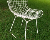 Vintage Side chair By Harry Bertoia For Knoll Authentic