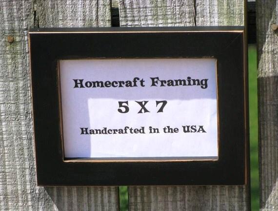 5x7 picture frame distressed wedding frame wood frame antiqued. Black Bedroom Furniture Sets. Home Design Ideas