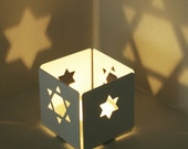 Star of David on your wall - a candle holder - Judaica made in Israel