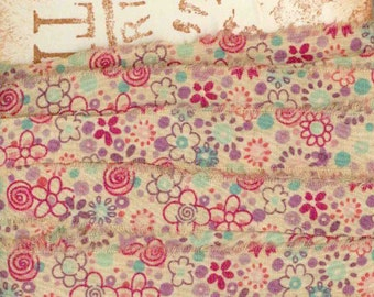 6 yards tea dyed craft gift tag FRENCH CHIC seam binding  trim vintage Muslin c812 . ....oohlala