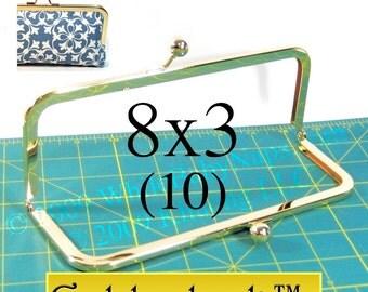 22% OFF 10 Goldenlock(TM) 8x3 purse frame