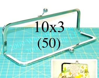 26% OFF 50 Nickel-free 10x3 metal purse frame(TM) kisslock