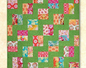 TEXAS TWO STEP fat quarter pattern Atkinson Designs quilt shabby prairie style sewing modern quilting cotton patchwork