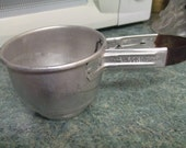 Vintage ALUMINUM Foley Hand Sifter  Kitchen Utensils USA
