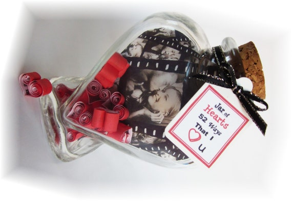 items similar to custom valentine gift for him or for her 52